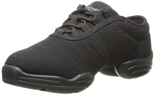 Capezio  Canvas Dance Sneaker,Black,9.5 M US