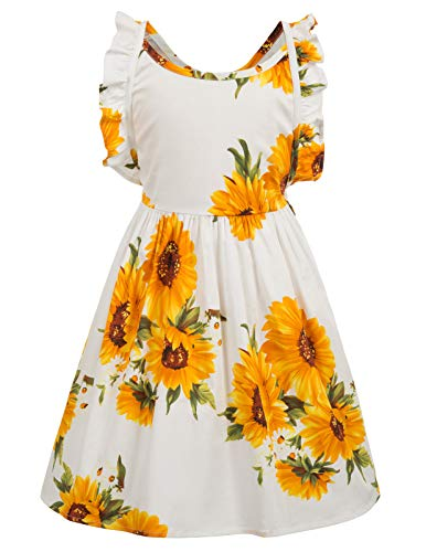Casual Summer Cotton Dresses Floral Girls 2-3yrs CL601-3