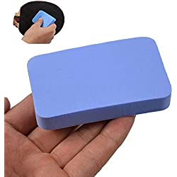 pushfocourag Durable Soft Table Tennis Bats Cover Care Wash Sponge Pad Cleaning Accessory Table tennis bat rubber wash cotton/washing cotton/cleaning cotton - Blue