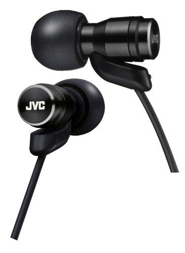 JVC Victor In-ear Stereo Headphones | HA-FXD70-B Black (Japanese Import) by JVC