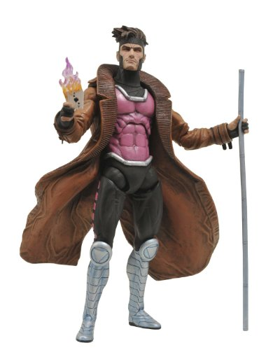 Diamond Select Toys Marvel Select: Gambit Action Figure]()