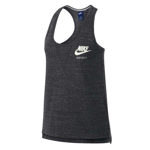 NIKE Womens Gym Vintage Tank Top Anthracite/Sail 883735-060 Size ()