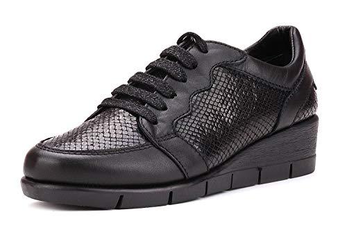 Black Pan Shoe The Woman Lace Flexx OXn0qY