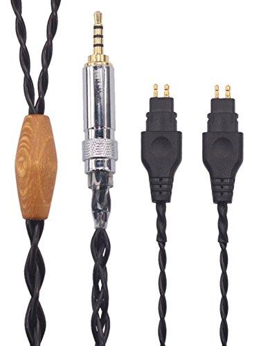 KTH-O.F HIFI 2.5mm Trrs Balanced Male to Sennheiser HD580, HD600, HD650 etc. Headphones, for Astell&Kern AK100II, AK120II, AK240, AK380, AK320, DP-X1A, KANN etc. (1.5M(4.9FT))