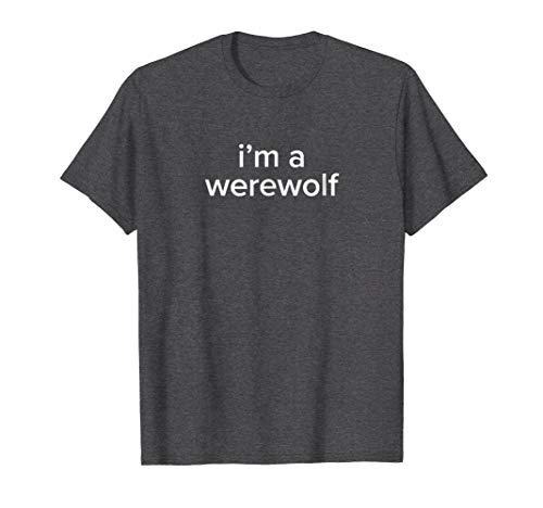 BuzzFeed Werewolf Halloween Costume T-Shirt ()