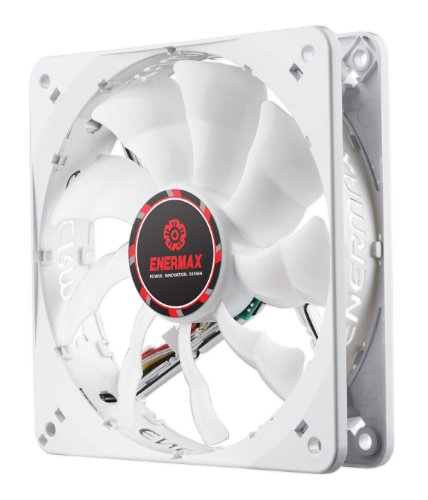 Enermax Cluster Advance APS 120mm Case Fan Cooling, White UCCLA12P