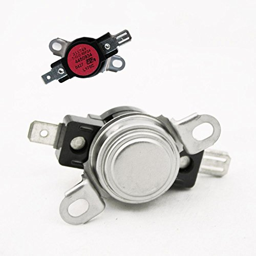 Price comparison product image Whirlpool Part Number 4450934: Safety (TOD) Swtch Thermostat (temp) (Upper Oven)