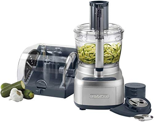 Elemental 13 Cup Food Processor with Spiralizer & Accessory Storage Case
