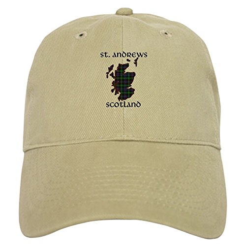 - CafePress - Standrewsplaidmap - Baseball Cap Adjustable Closure, Unique Printed Baseball Hat