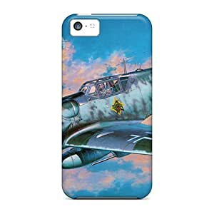 New Arrival Case Cover With Design For Iphone 5c- Bf 109g 5C Hasegawa