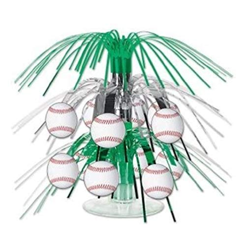 hersrfv home Baseball Mini Cascade Centerpiece Birthday Party