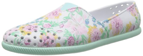 Native Women's Botanical Print/Shore Green Verona Slip-on Loafer US 7 from Native