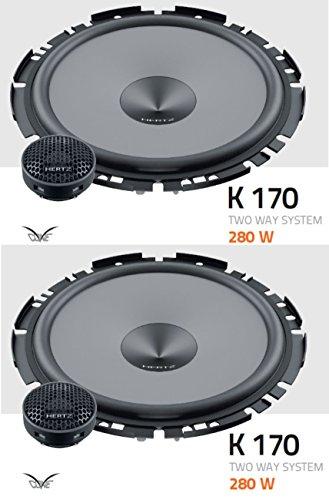 Hertz K 170 6.7' 17cm 170mm 2 Way Car Door Component Speakers 70w RMS