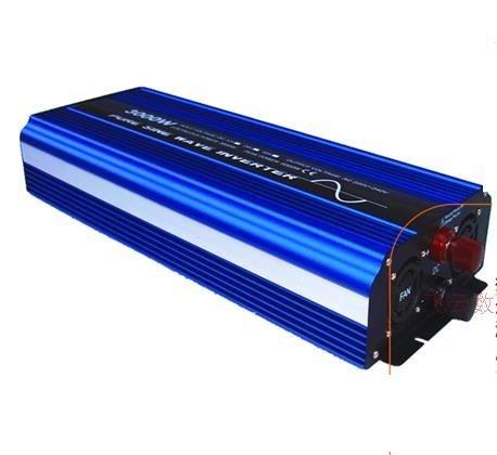 Pure sine wave power inverter Rated 1500W Peak 3000W DC 12V to AC 110V/220V LED CE