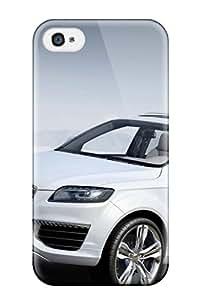 Hot Design Premium Nqn-5712fseOfuKs Tpu Case Cover Iphone 4/4s Protection Case(audi Q7 33)