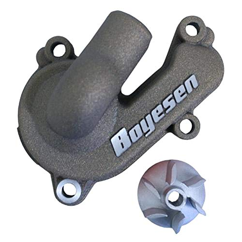 Boyesen Supercooler Water Pump Cover and Impeller Kit Magnesium - Fits: Husqvarna FX 350 2017 by Boyesen (Image #1)