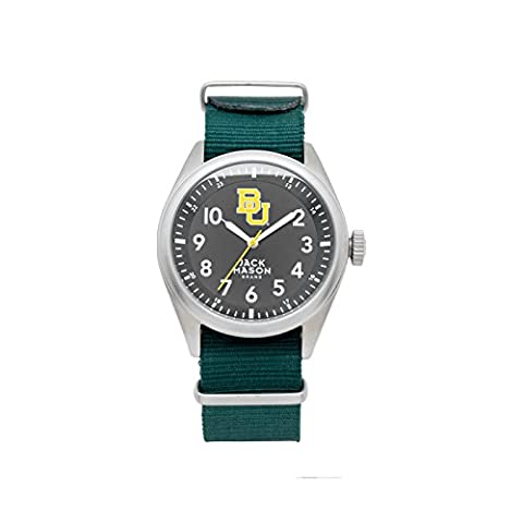 Baylor Bears Men's Solid NATO Strap Watch (Baylor Watches)