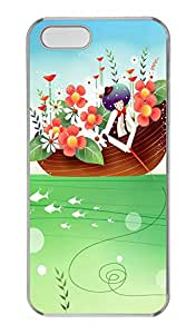 iPhone 5s Cases & Covers - Children Art Illustration Custom PC Soft Case Cover Protector for iPhone 5s - Transparent