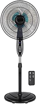 BCP 16in Oscillating Pedestal Fan with Double Blades