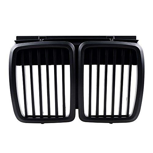 - Front Hood Kidney Grille For BMW 1983-1991 E30 325i 325is 325iX 325 325e 325es 318i 320i M3