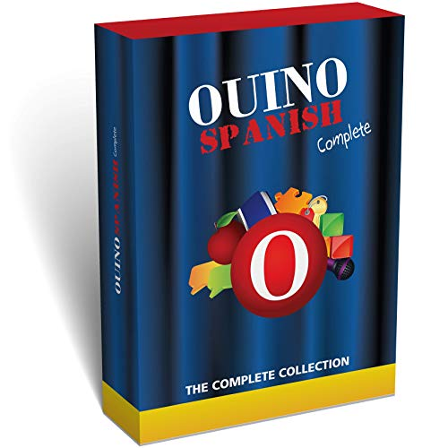 Learn Spanish with OUINO: The 5-in-1 Complete Collection (for PC, Mac, iPad, Android, Chromebook) - Redesigned & Expanded v3