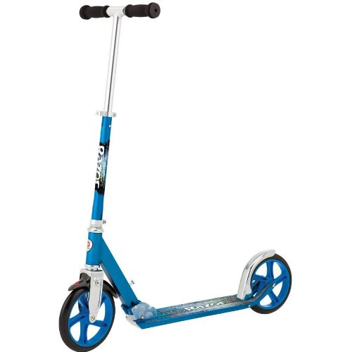 Razor A5 LUX Kick Scooter - Blue