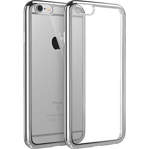Sleek Tech Armor Case for iPhone 6/6s (Silver) - 3