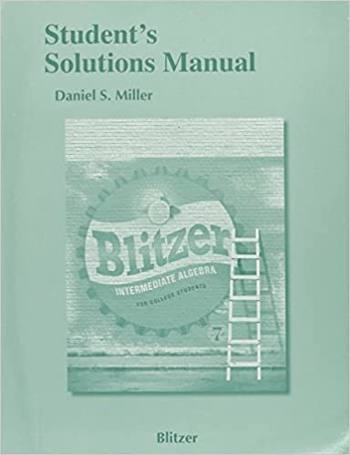 Student solutions manual for intermediate algebra for college student solutions manual for intermediate algebra for college students 7th edition by robert f blitzer fandeluxe Choice Image