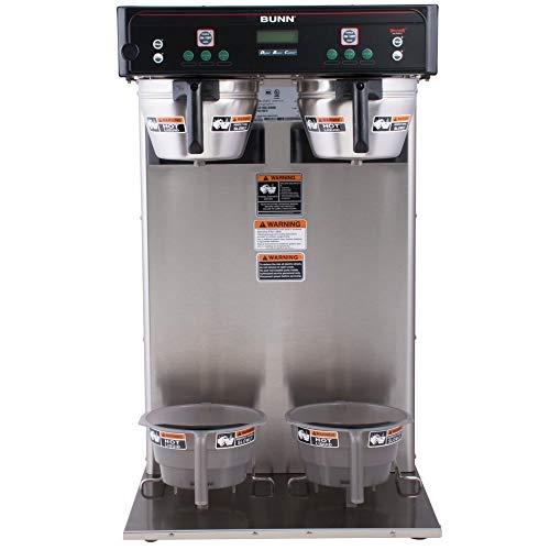 Bunn 43100.0000 ITCB-Twin HV Infusion Twin High Volume Tea Coffee Brewer 120/240V