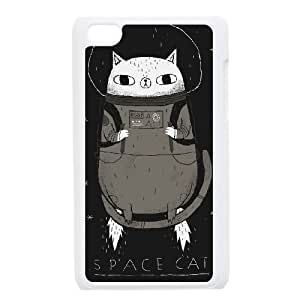 iPod Touch 4 Case White SPACE CAT SH3879499