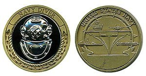US Navy Diver Challenge Coin by Military Productions