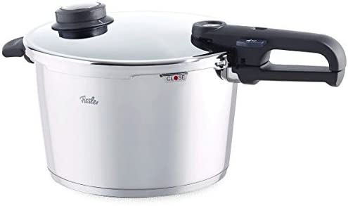 Fissler Vitavit Premium Pressure Cooker, Cooking Pot, 8 ltr, with Accessory