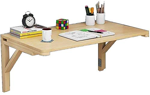 Escritorio de la computadora Mesa plegable cuadrada, mesa montada ...