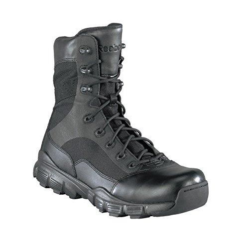 Reebok Military Dauntless 8in Side Zip Military Boots Black