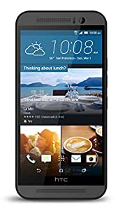 HTC One M9 Factory Unlocked Cellphone, 32GB, Gunmetal Grey (Discontinued by Manufacturer)