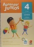 capa de Aprender Juntos. História - 4º Ano - Base Nacional Comum Curricular