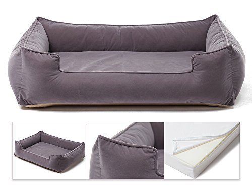 Petsbao Premium Dog/Pet Bed & Lounger with Solid Memory Foam
