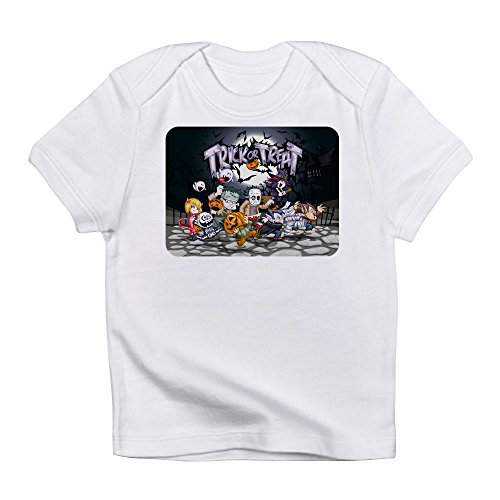 Royal Lion Infant T-Shirt Halloween Trick or Treat Costumes - Cloud White, 3 to 6 Months (Werewolf Outfits Halloween)