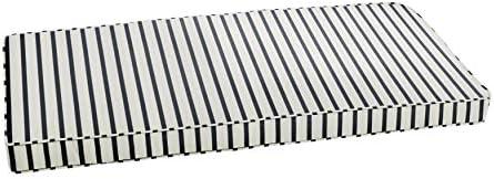 Mozaic AMZCS112752 Indoor or Outdoor Sunbrella Bench Cushion