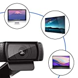 HD Pro Webcam C920, Widescreen Video Calling and