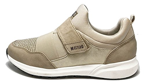 Trainers Beige MUSTANG 4 406 1271 qRI7vF