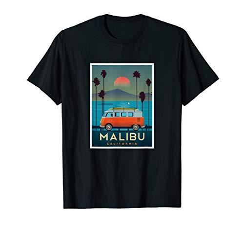 (Vintage Malibu California Postcard  T-Shirt)