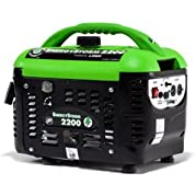 LIFAN ES2200SC EnergyStorm 2200W Generator, Gasoline Powered, 2 gallons Fuel Capacity, 14 hours Duration
