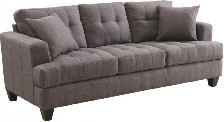 (Coaster 505175-CO Samuel Sofa, In Charcoal)