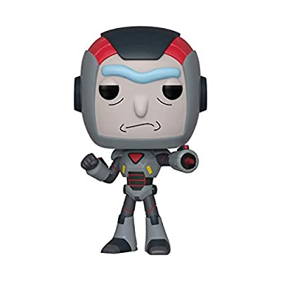 Funko Pop! Animation: Rick & Morty - Purge Suit Rick: Toys & Games
