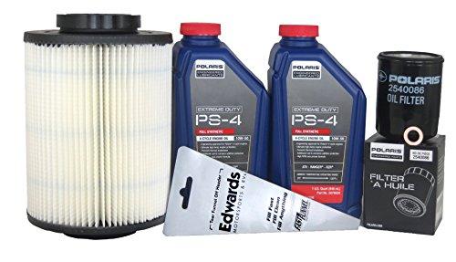 2012 Ranger Xp 800 Genuine Polaris Extreme Duty Oil Change and Air Filter Kit