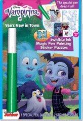Disney Vampirina Magic Ink Color Book by Lee Publications