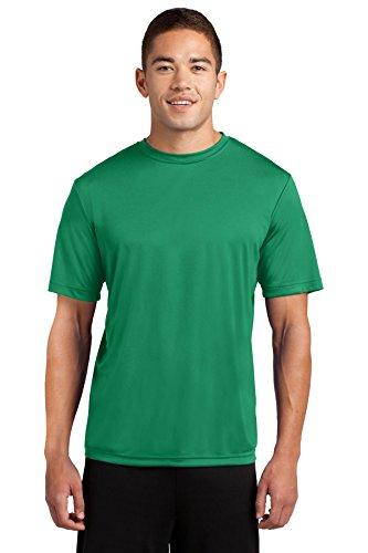 - Dri-Tek Mens Big & Tall Short Sleeve Moisture Wicking Athletic T-Shirt, 2XLT, Kelly Green