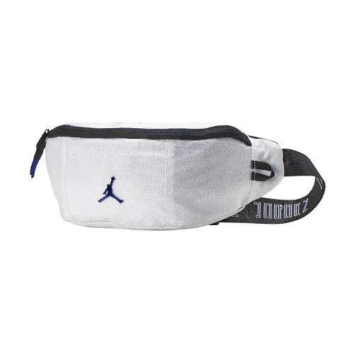 Nike(ナイキ) JORDAN/ジョーダン レトロ 11 クロスボディ バッグ 9A0187-637 (ホワイト/コンコード/ブラック) - [並行輸入品] B07RNJVRHN