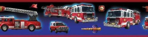 RoomMates RMK1124BCS Fire Brigade Peel & Stick Border